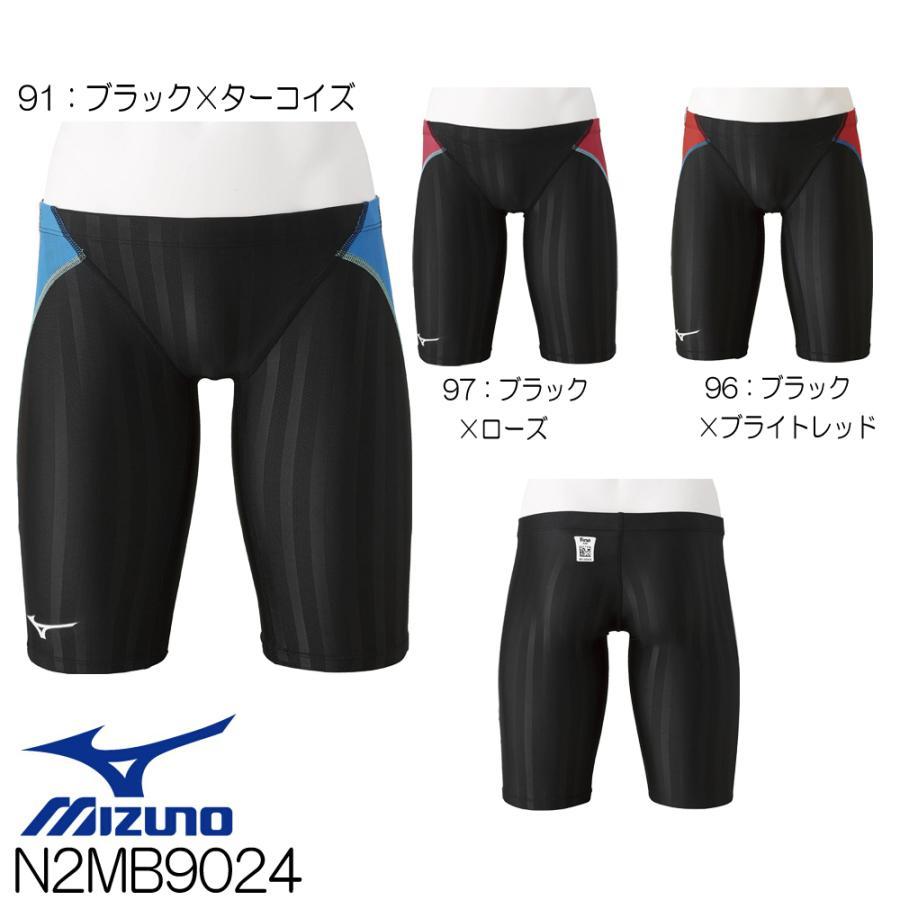 ミズノ MIZUNO 競泳水着 メンズ fina承認 ストリームアクセラ ハーフスパッツ ソニックフィットAC N2MB9024