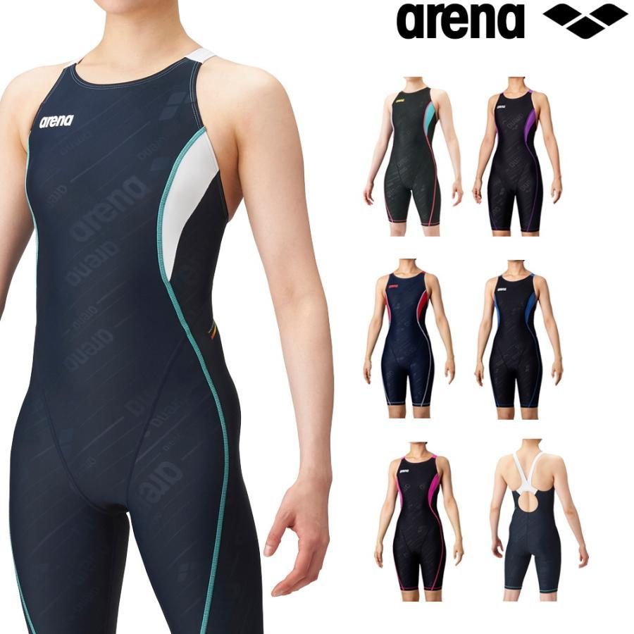 アリーナ オンライン限定商品 ARENA 競泳水着 レディース 練習用 セイフリーバックスパッツ 着やストラップ タフスキンフレックス 競泳練習水着 専門店 SAR-0150W