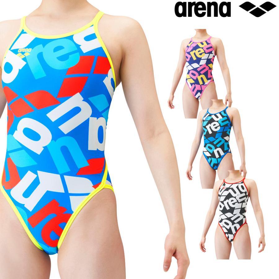 アリーナ Seasonal 正規品 Wrap入荷 ARENA 競泳水着 レディース 練習用 スーパーフライバック 2021年秋冬モデル SAR-1115W タフスーツ タフスキンD 競泳練習水着