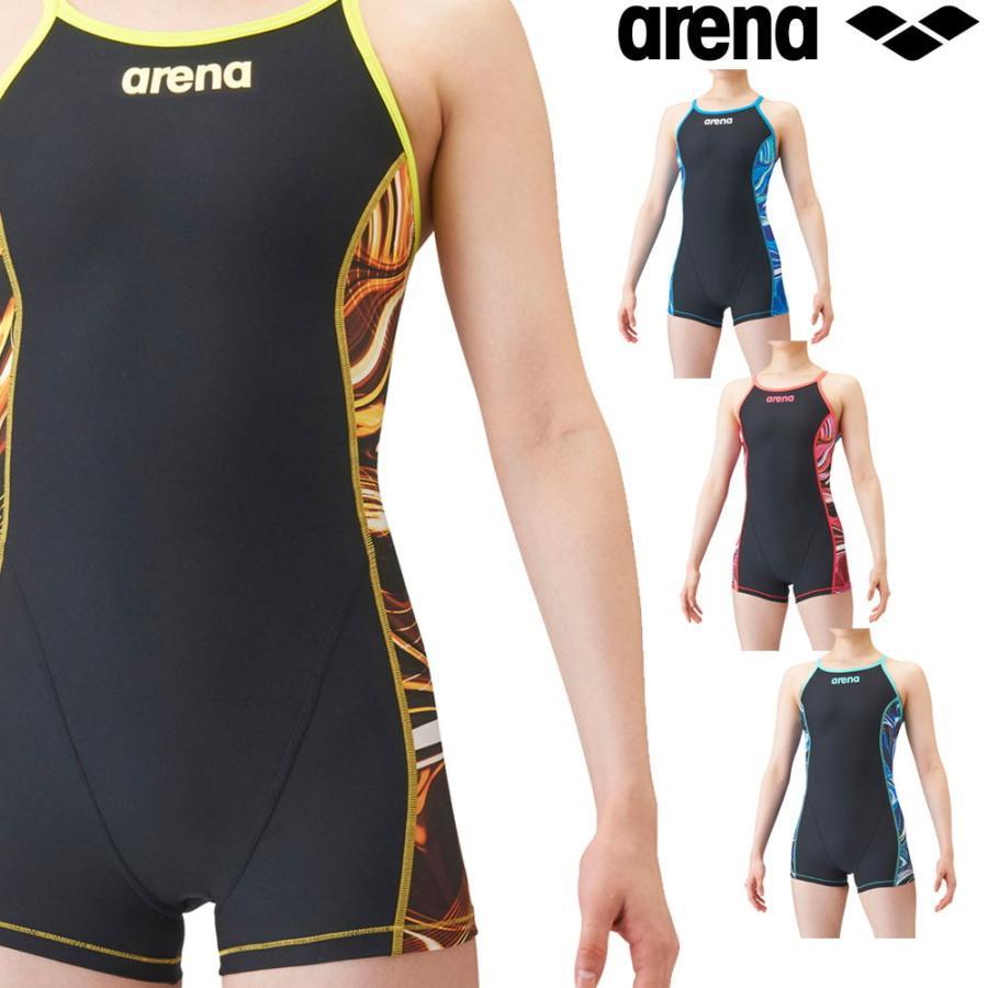 数量限定アウトレット最安価格 訳あり品送料無料 アリーナ ARENA 競泳水着 レディース 練習用 タフミドルスパッツSS タフスーツ 2021年秋冬先行モデル SAR-1132W 競泳練習水着 タフスキン