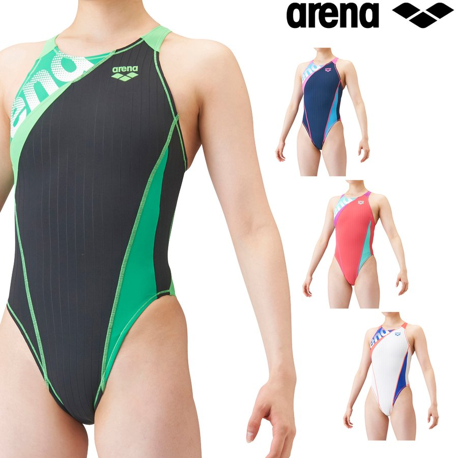 アリーナ ARENA 開店記念セール 競泳水着 レディース 練習用 特別セール品 2021年秋冬モデル SAR-1150W ダブルマットF リミック 競泳練習水着