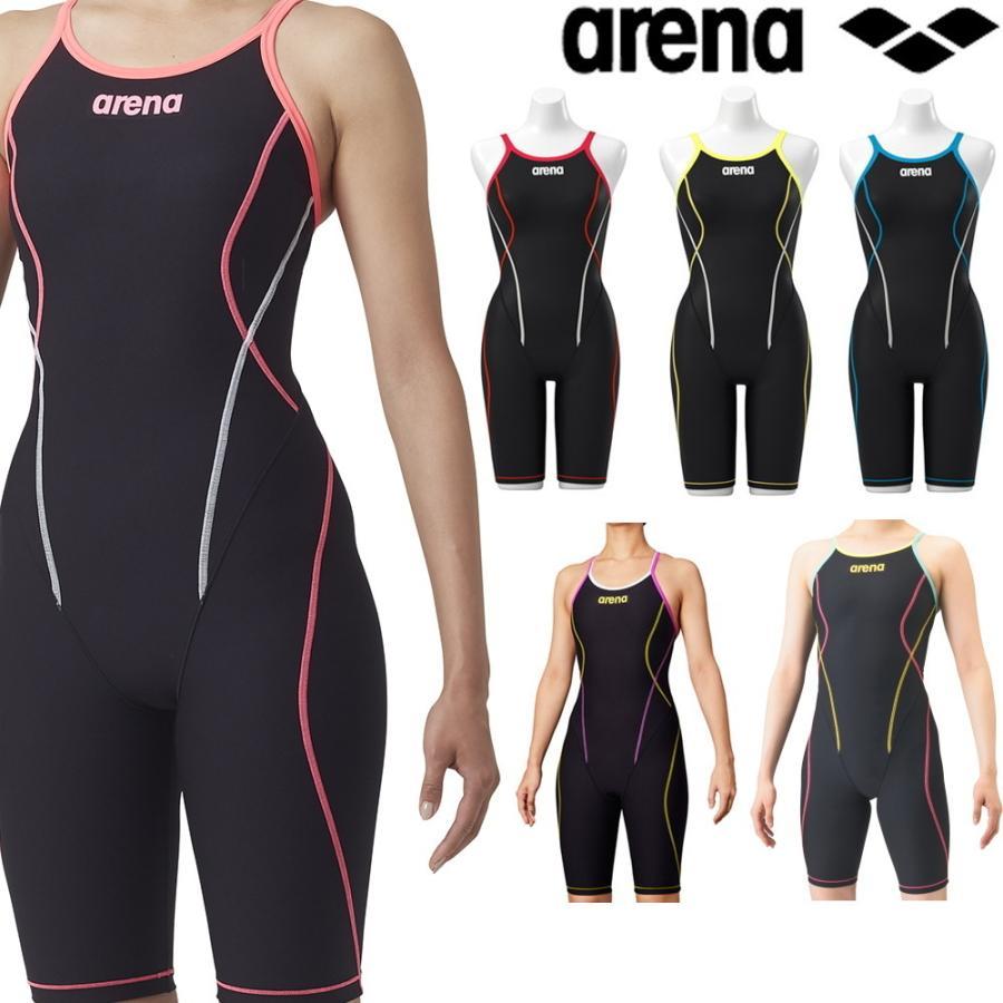 保障 アリーナ ARENA 競泳水着 レディース 練習用水着 タフスキン 出色 SAR-9100W タフスーツ タフフライバックスパッツ 競泳練習水着