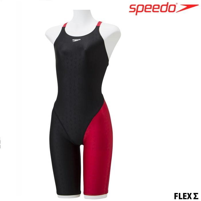 品質保証 スピード SPEEDO 海外 フィットネス水着 レディース SFW11935 Σ FLEX アシンメトリーニースキン