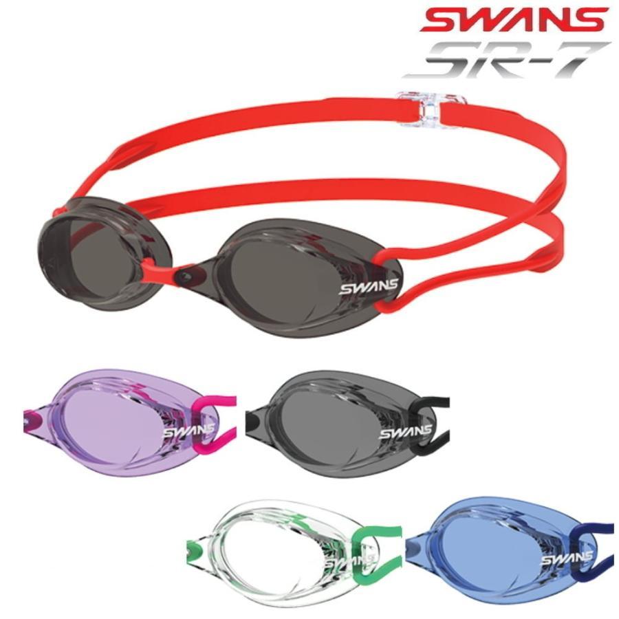 SWANS 日本メーカー新品 スワンズ お求めやすく価格改定 ノンクッション スイミングゴーグル SR-7N クリアタイプ 水泳