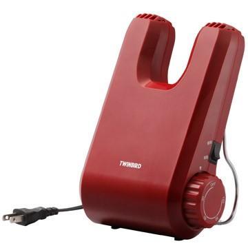 セール価格 ツインバード くつ乾燥機 レッド 返品不可 SD-4546R