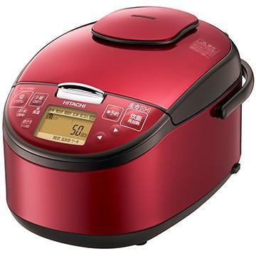 宅送 日立 圧力IH炊飯器 5.5合炊き 期間限定 レッド RZ-H10BJ-R