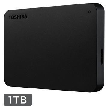TOSHIBA 国内正規品 外付け ポータブルハードディスク 店 1TB HDAD10AK3-FP ひかりTVショッピング限定モデル ブラック