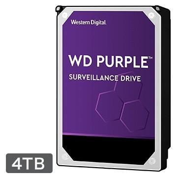 WesternDigital 日本正規品 WD Purple シリーズ 3.5インチ WD40PURZ-R 内蔵 HDD IntellIpower 4TB お買い得品