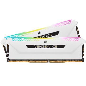 Corsair 安値 内蔵メモリ VENGEANCE RGB PRO SL 新色追加して再販 32GB 2x16GB DDR4 PC4-25600 Desktop White 3200 Memory - C16 CMH32GX4M2E3200C16W