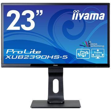 iiyama デポー 最新号掲載アイテム 23型ワイド液晶ディスプレイ XUB2390HS-5 XUB2390HS-B5 ブラック