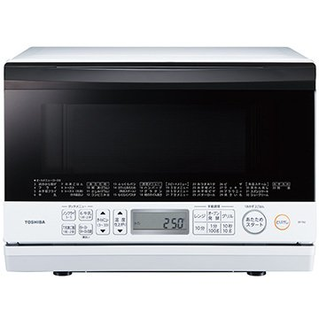 TOSHIBA メーカー公式ショップ 石窯オーブンレンジ 23L ER-T60 グランホワイト 《週末限定タイムセール》 W