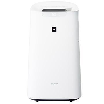 返品交換不可 SHARP 加湿空気清浄機 ハイグレードモデル KI-LX75-W ホワイト プラズマクラスター25000 感謝価格