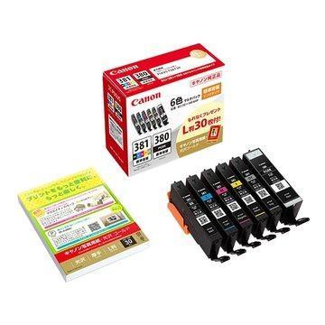 CANON インクタンク BCI-381+380 買収 Seasonal Wrap入荷 6MP 2344C002