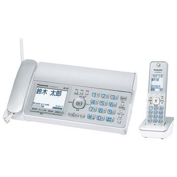 Panasonic デジタルコードレス普通紙FAX ※アウトレット品 子機1台 KX-PD315DL-S 激安超特価 シルバー