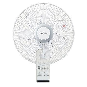 TOSHIBA 日本限定 30cm壁掛扇風機 リモコン式 W TF-30RK24 ホワイト お値打ち価格で