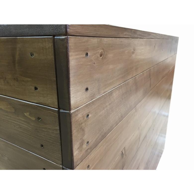木製レジカウンター・受付カウンター_幅120cm×奥行60cm×高さ92cm_オーク+ニス_C004OK|hikariya-netshop|05
