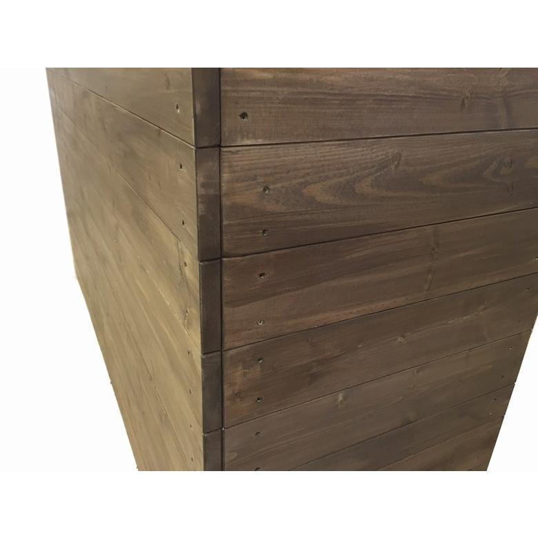 木製レジカウンター・受付カウンター_幅150cm×奥行47cm×高さ93cm_オールナット_C007WN|hikariya-netshop|02