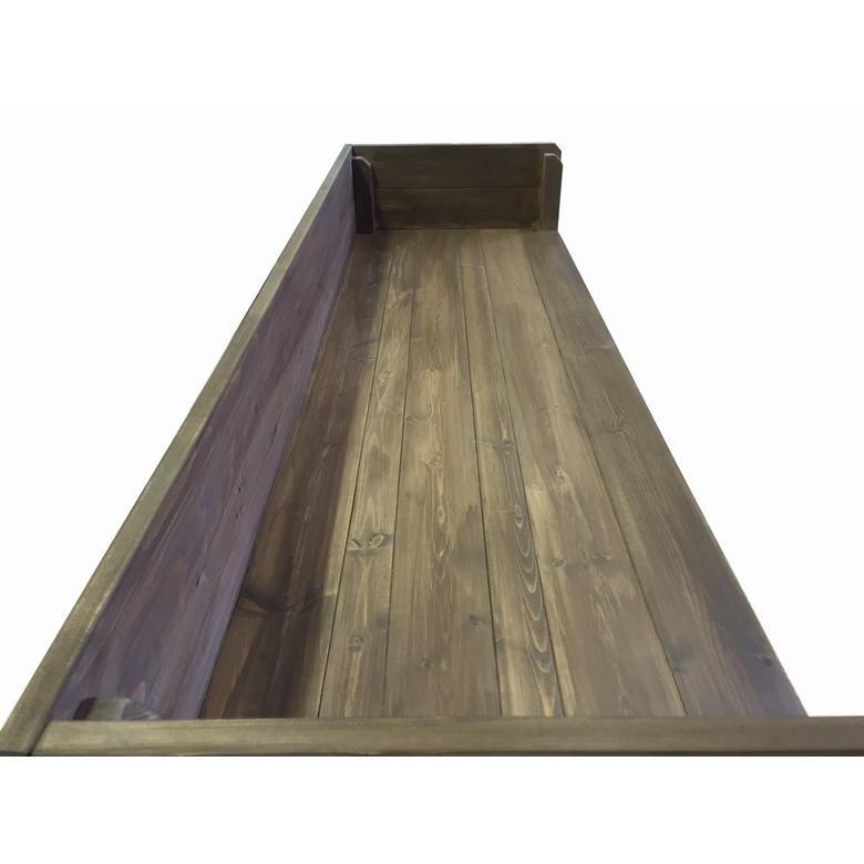 木製レジカウンター・受付カウンター_幅150cm×奥行47cm×高さ93cm_オールナット_C007WN|hikariya-netshop|03