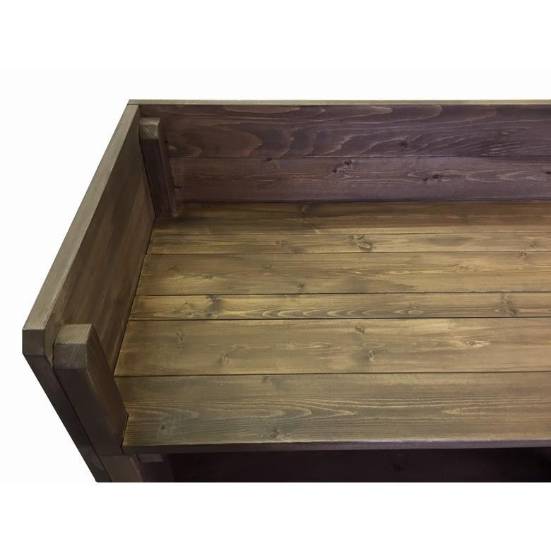 木製レジカウンター・受付カウンター_幅150cm×奥行47cm×高さ93cm_オールナット_C007WN|hikariya-netshop|04
