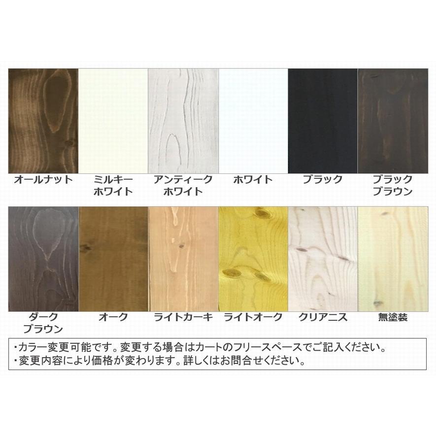 木製レジカウンター・受付カウンター_幅150cm×奥行40cm×高さ93cm_アンティークホワイト_C013AWH hikariya-netshop 10