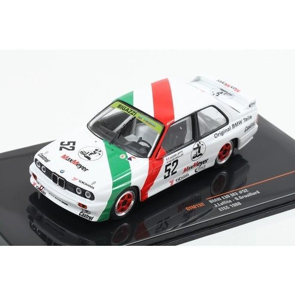 【ixo】 1/43 BMW E30 M3 ETCC 1988 No.52
