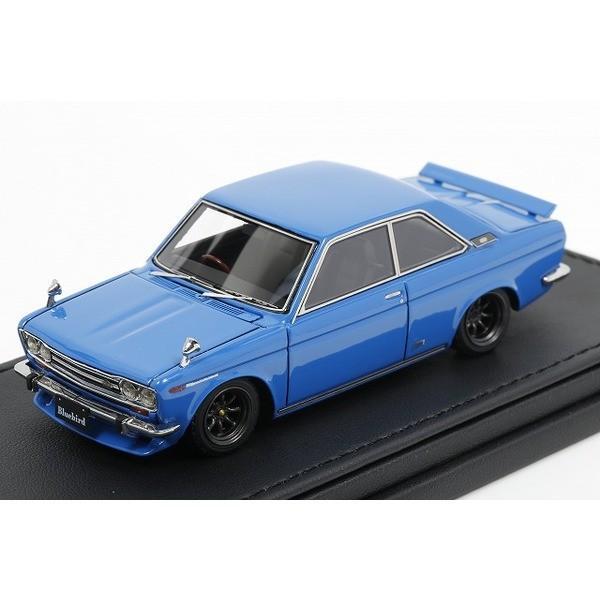 【イグニッションモデル】 1/43 Datsun 青bird Coupe (KP510)  青