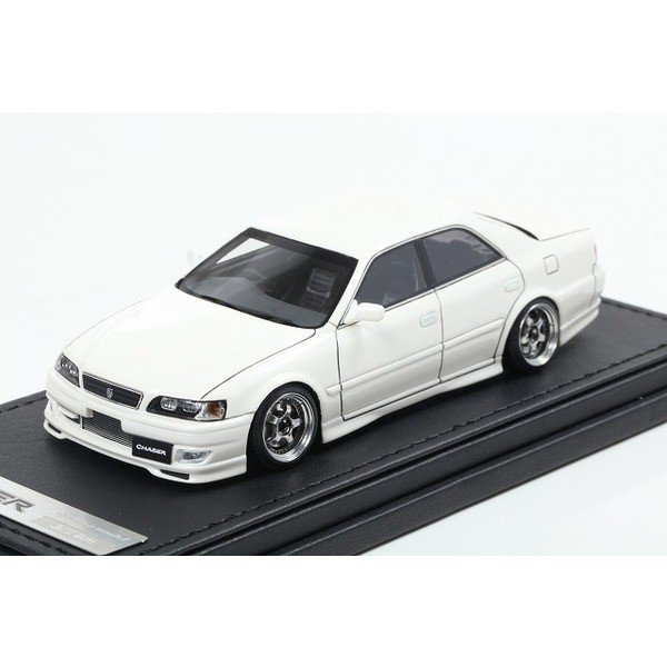 【Ignition】 1/43 Toyota Chaser Tourer V JZX100 Wo-Wheel (パールホワイト)