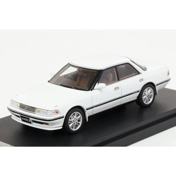 【MARK43】 1/43 トヨタ マークII ハードトップ GT ツインターボ スーパーホワイト IV