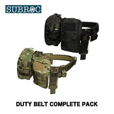サブロック  デューティベルト コンプリートパックベルトサイズMSUBROC DUTY BELT COMPLETE PACK/BELT