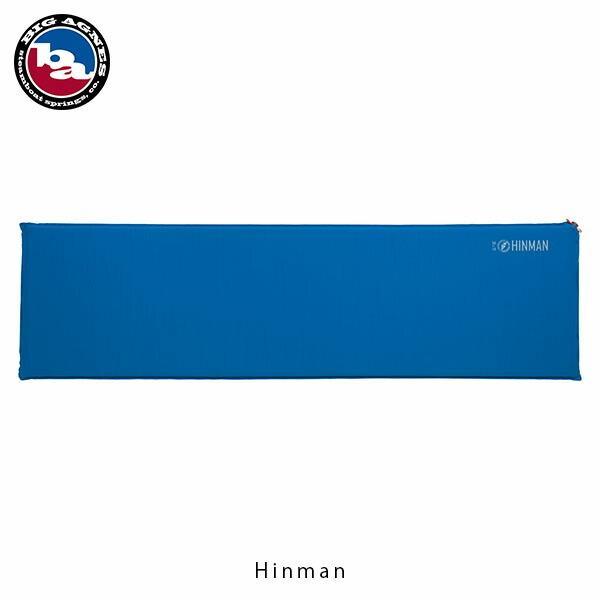 ビッグアグネス BIG AGNES キャンピングマット ヒンマン レギュラー ブルー セルフインフレータブルマット 6cm厚 エアマット 国内正規品 BIGPHR19 hikyrm