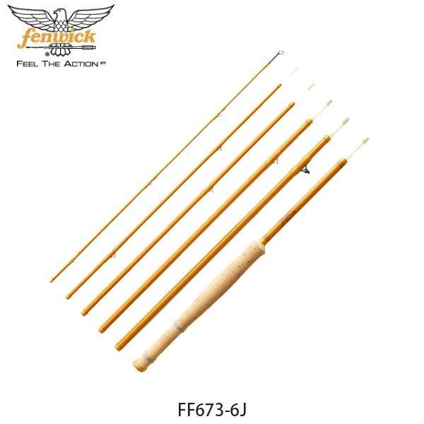 フェンウィック fenwick フライロッド 釣り竿 フェンウィックイエローグラスIII FF673-6J Mountain High フィッシング 17300330676 FEN4549769015642