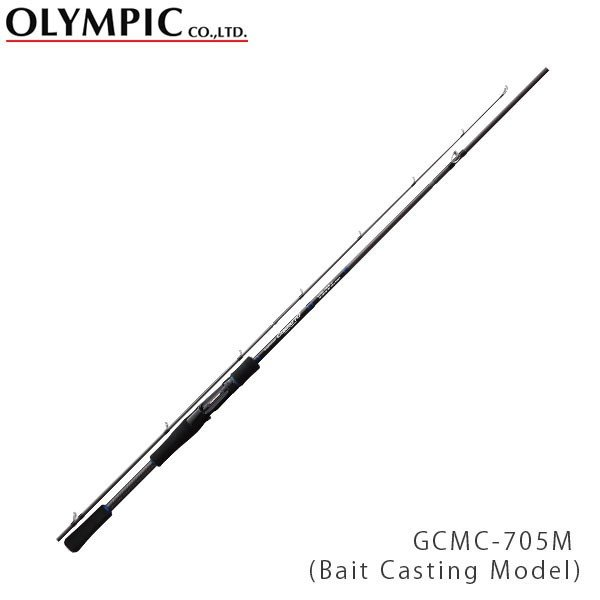 OLYMPIC オリムピック 釣竿 コンパクト COMPACT ROD COMPATTO(Bait Casting Model) コンパット GCMC-705M OLY4571105691357