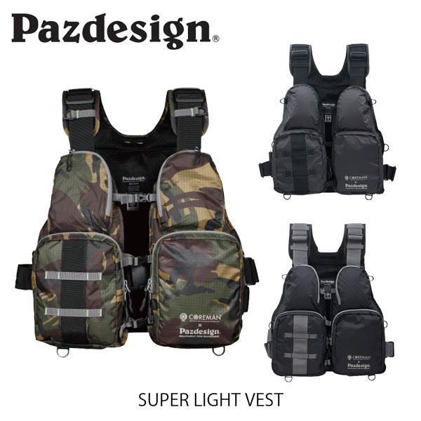 パズデザイン Pazdesign スーパーライトベスト COREMAN×Pazdesign SUPER LIGHT VEST SLV-024 SLV024