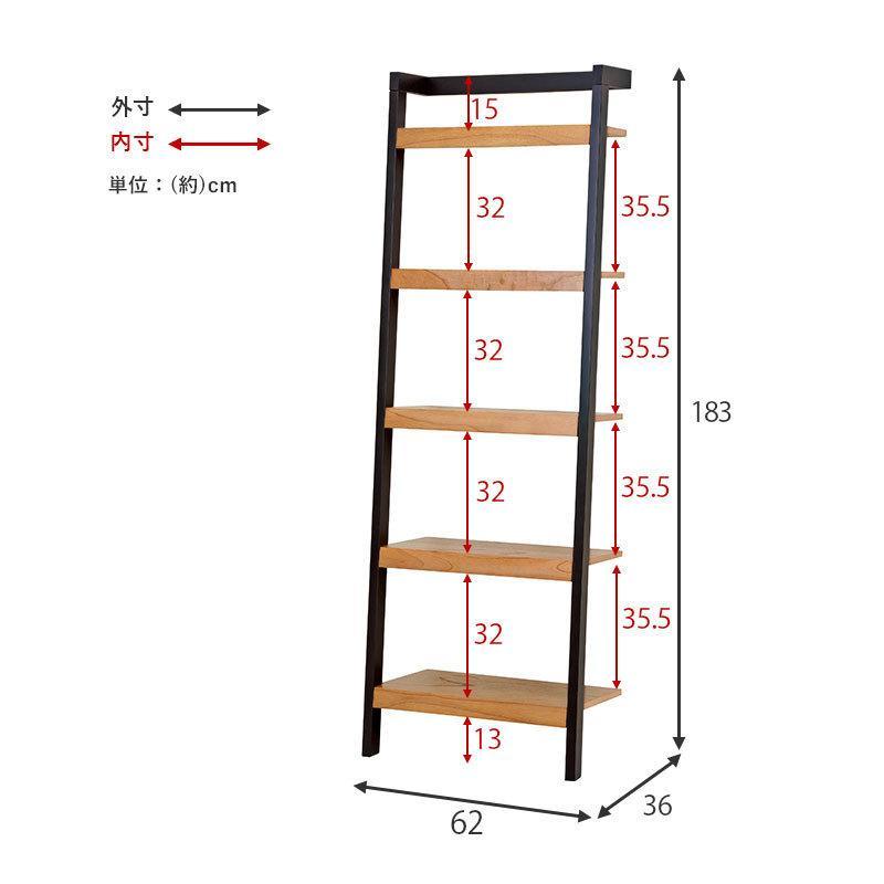 ラダーラック新商品 壁面収納 壁面ユニット ウォールラック コレクションラック 飾り棚|himalaya|09