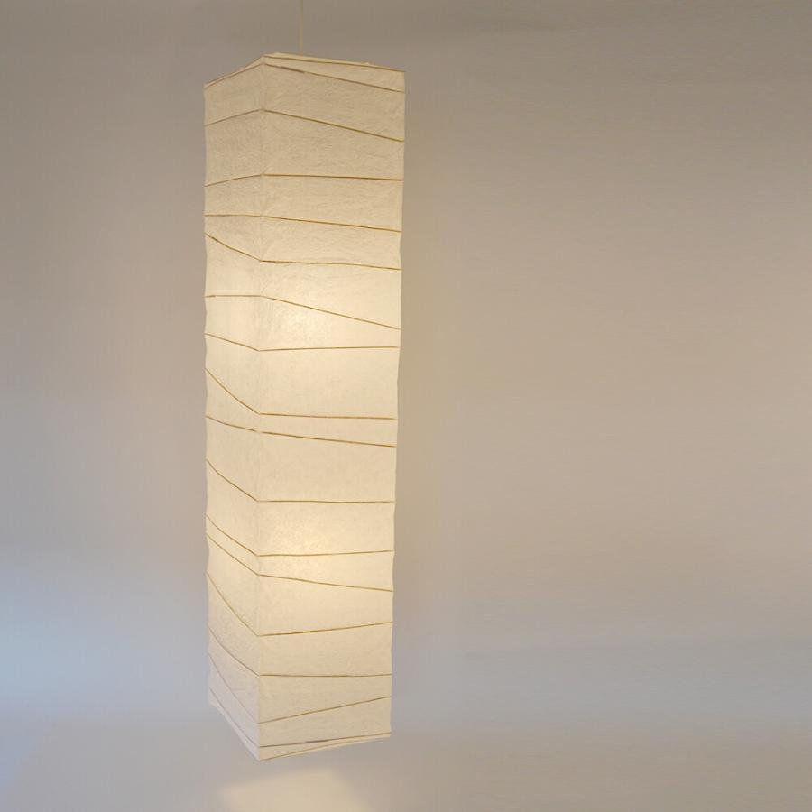 日本製和紙照明大型照明吹き抜け用和風天井照明ペンダントライト人気揉み紙仕様|himalaya