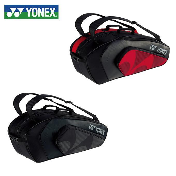ヨネックス ラケットバッグ メンズ レディース ラケットバッグ6 リュック付 テニス6本用 BAG1922R YONEX