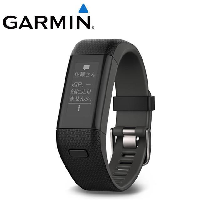 ガーミン GARMIN ランニング 腕時計 メンズ vivosmart J HR+ ビボスマート 010-01955-63 rkt