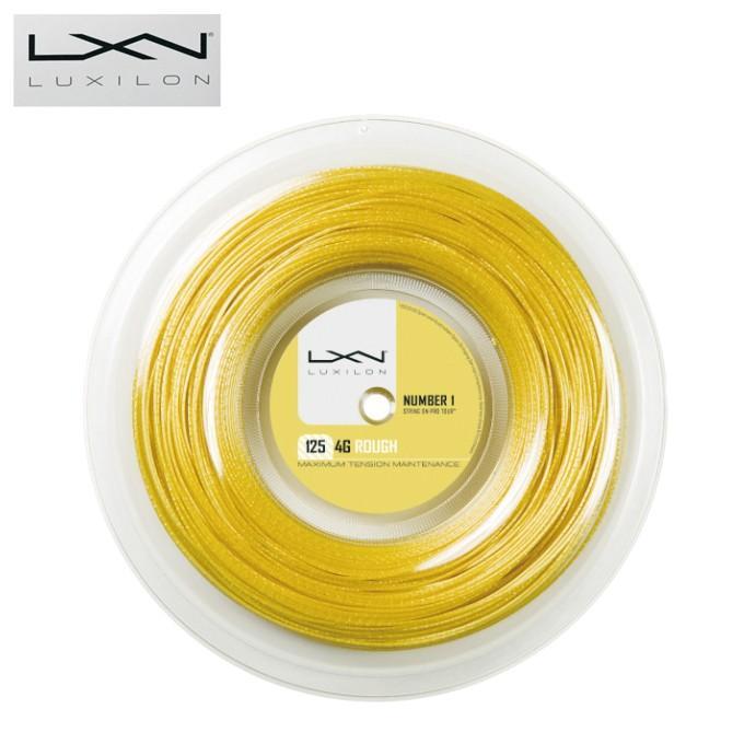 新しく着き ルキシロン(Luxilon) ロールガット ポリエステル 200m 4Gラフ125 200m WRZ990144 (1.25mm) ロールガット (4G ROUGH 125 Reel) WRZ990144 硬式テニス ガット ストリング, トツカワムラ:618ac4fa --- airmodconsu.dominiotemporario.com