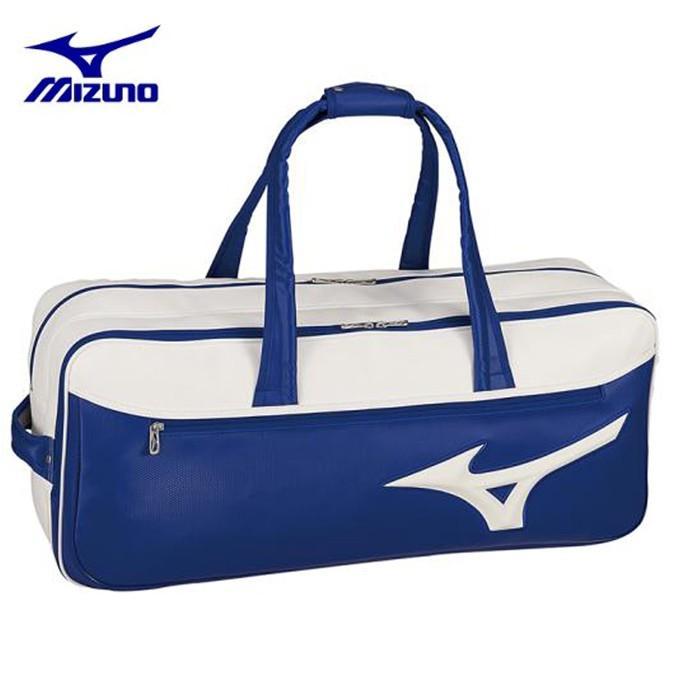 ミズノ(Mizuno) (ラケット2本収納可能) トーナメントバッグ (TOURNAMENT BAG) 63GD9003 ラケットバッグ ラケットケース