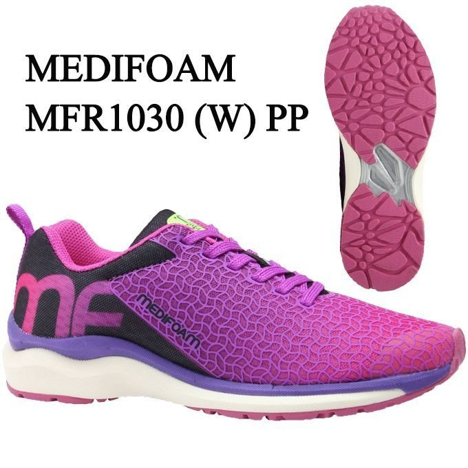 メディフォーム MEDIFOAM ランニングシューズ レディース MFR1030(W) MFR1030 PP run