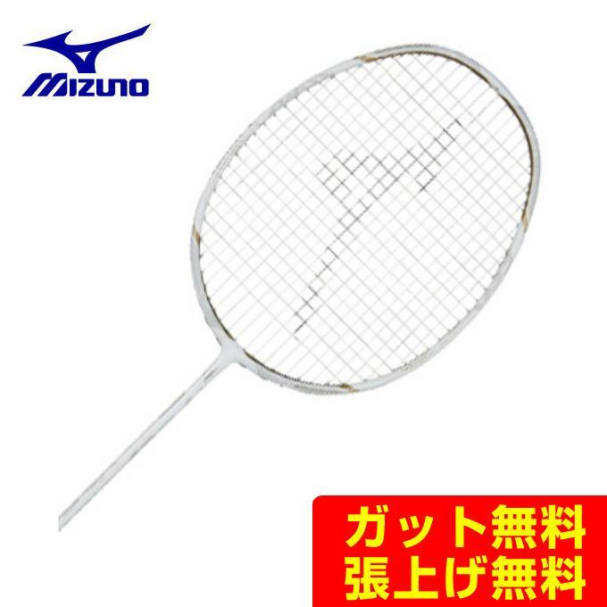 ミズノ(Mizuno) アルティウス01フィール (ALTIUS 01 FEEL) 73JTB90101 ホワイト×ゴールド 2019年モデル 奥原希望使用モデル バドミントンラケット
