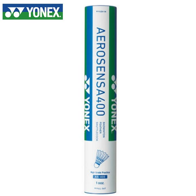 ヨネックス シャトル エアロセンサ400 毎日続々入荷 1ダース rkt YONEX 25%OFF AS-400