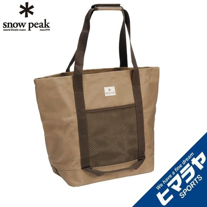 スノーピーク トートバッグ 春の新作 トートバック 全品最安値に挑戦 M peak UG-071R snow