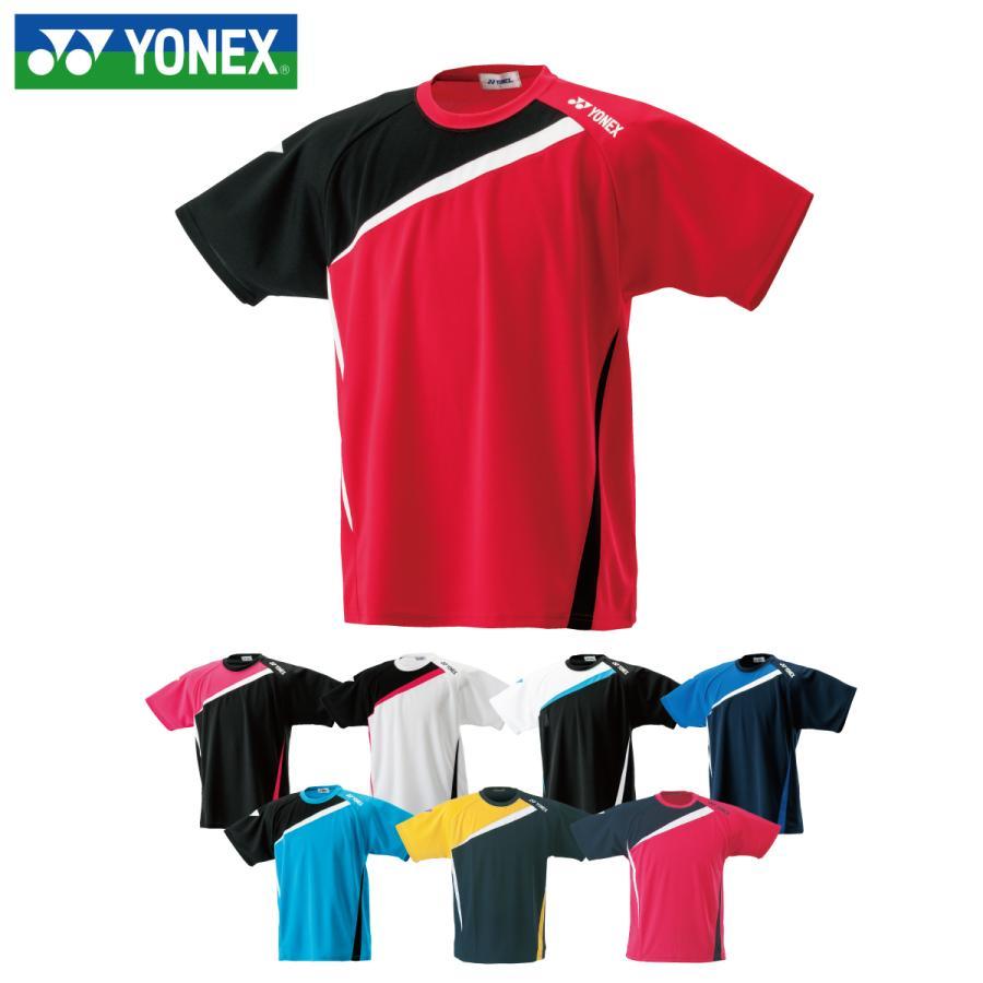 ヨネックス テニスウェア バドミントンウェア Tシャツ 半袖 RWHI1601 迅速な対応で商品をお届け致します スタンダードサイズ アシンメトリーTシャツ 最新号掲載アイテム YONEX