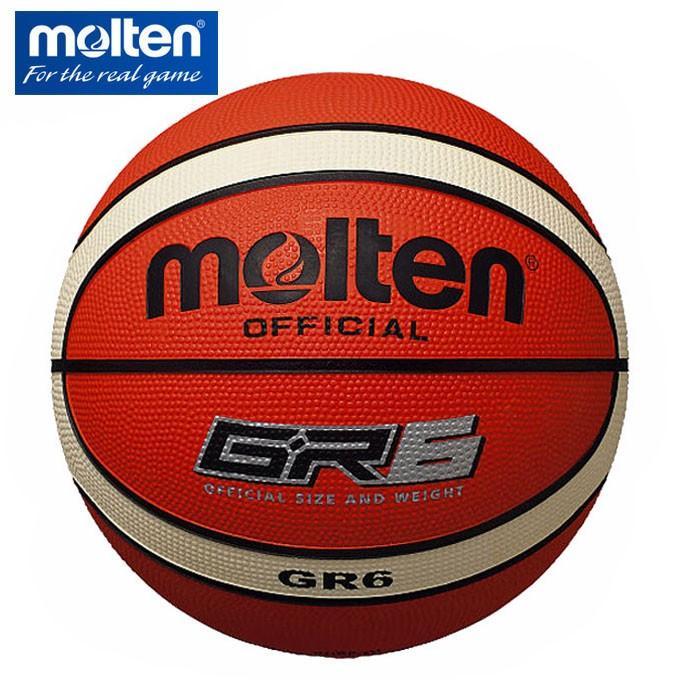 5%OFF モルテン バスケットボール 6号球 GR6 molten 迅速な対応で商品をお届け致します 屋外用 BGR6-OI