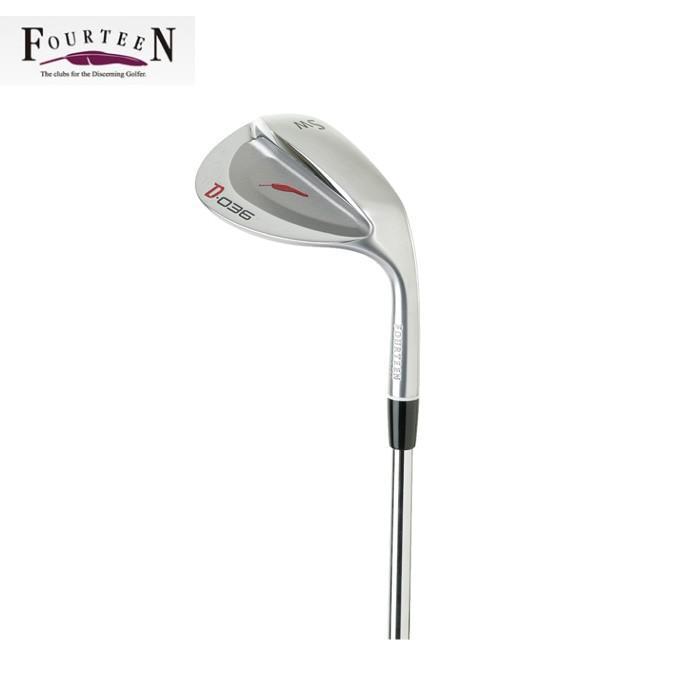フォーティーン FOURTEEN ゴルフクラブ ウェッジ メンズ D-036 WEDGE ST