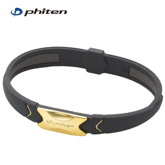 ファイテン ブレスレット オンラインショッピング メンズ 最安値に挑戦 レディース RAKUWAブレスS プレートタイプ 16cm ゴールド TG735325 phiten