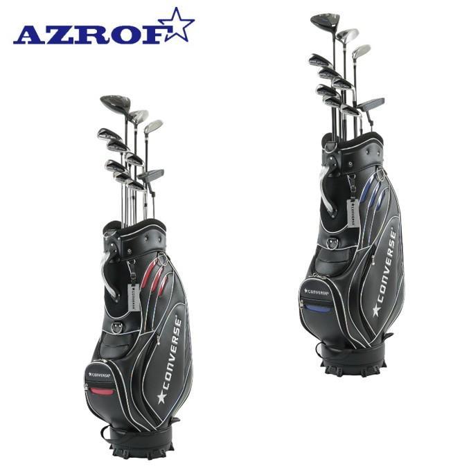 アズロフ AZROF ゴルフ セットクラブ メンズ CONVERSE×AZROF Mセット AZC-7045 M-SET 2x6+UT+PT+CB