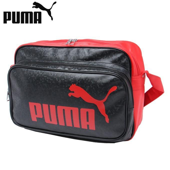 プーマ エナメルバッグ 購買 Mサイズ メンズ レディース トレーニング 新色追加 PUショルダー 075370-02 PUMA