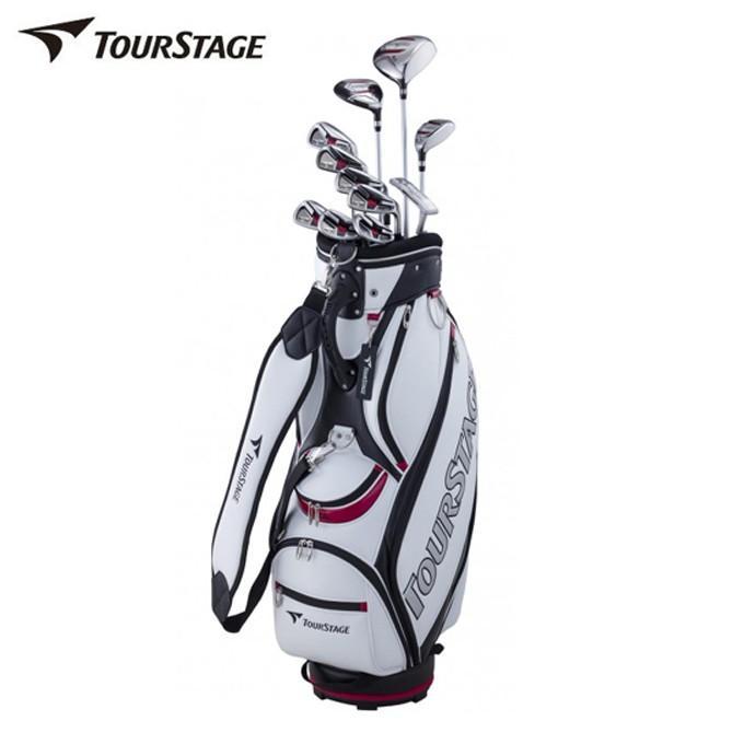 ブリヂストン ツアーステージ TOURSTAGE ゴルフ セットクラブ メンズ TOURSTAGE V002 キャディバッグ付11本セット V2GBKC V2GSKC